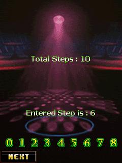 Java game screenshots Dance Master. Gameplay Dance Master