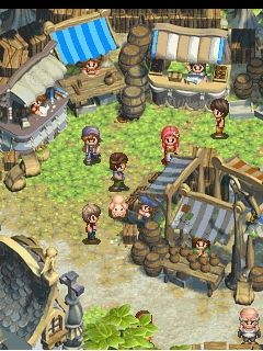 Mobile game New harvest moon - screenshots. Gameplay New harvest moon