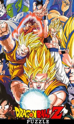 Mobile game Dragon ball Z: Puzzle - screenshots. Gameplay Dragon ball Z: Puzzle