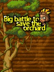 In addition to the free mobile game Big battle to save the orchard for Asha 501 download other Nokia Asha 501 games for free.