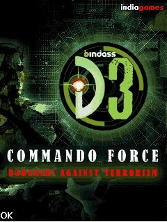Download free mobile game: D3 Commando force - download free games for mobile phone