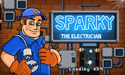 Download free mobile game: Sparky: The electrician - download free games for mobile phone