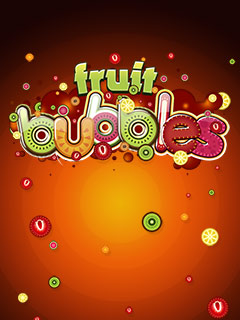 Download free mobile game: Fruit bubbles - download free games for mobile phone