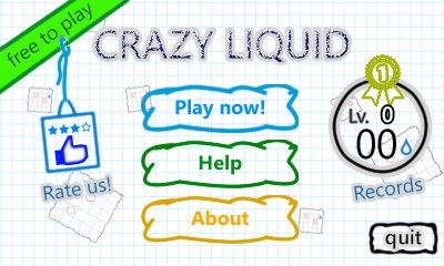 Download free mobile game: Crazy liquid - download free games for mobile phone