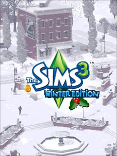 Mobile game The Sims 3: Winter edition - screenshots. Gameplay The Sims 3: Winter edition