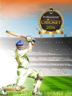 Download free mobile game: Professional cricket 2014 - download free games for mobile phone