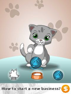 Mobile game Talking cat - screenshots. Gameplay Talking cat