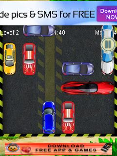 Java game screenshots Car parking rush. Gameplay Car parking rush