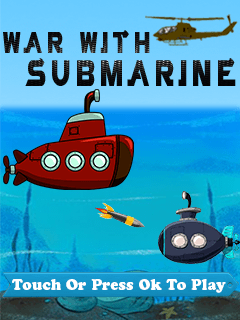Download free mobile game: War with submarines - download free games for mobile phone
