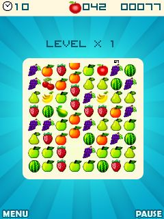 Mobile game Fruit crush - screenshots. Gameplay Fruit crush