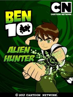 Ben 10 Alien hunter game ponsel Java jar