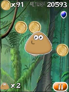 Mobile game Pou - screenshots. Gameplay Pou