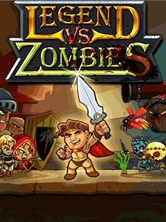 Download free mobile game: Legend vs zombies - download free games for mobile phone