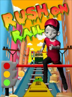 Download free mobile game: Rush on rail - download free games for mobile phone