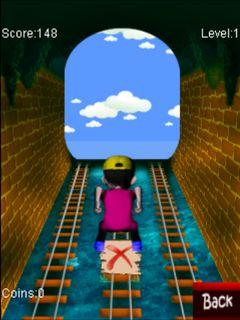 Mobile game Rush on rail - screenshots. Gameplay Rush on rail