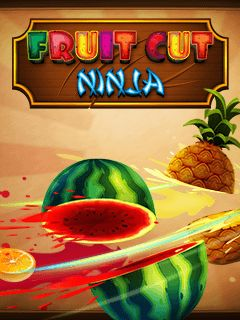 Download free mobile game: Fruit cut ninja - download free games for mobile phone