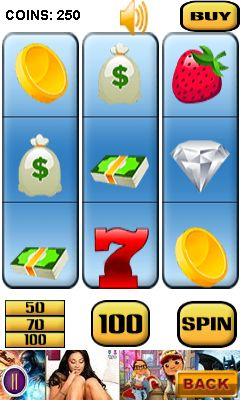 Mobile game Slot machine mania - screenshots. Gameplay Slot machine mania