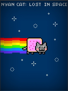 Download free mobile game: Nyan cat: Lost in space - download free games for mobile phone