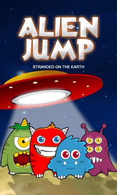 Download free mobile game: Alien jump - download free games for mobile phone