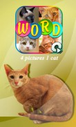 In addition to the  game for your phone, you can download 4 pics 1 cat for free.