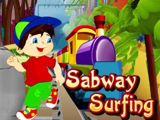 Download free mobile game: Sabway surfing - download free games for mobile phone