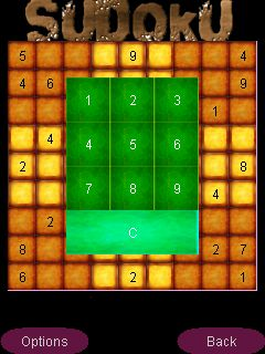 Mobile game Sudoku - screenshots. Gameplay Sudoku