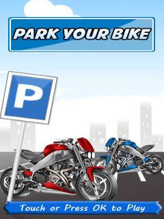Download free mobile game: Park your bike - download free games for mobile phone
