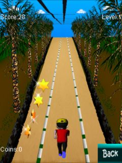 Mobile game Track runner - screenshots. Gameplay Track runner