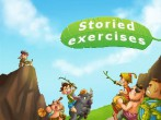 In addition to the  game for your phone, you can download Storied exercises for free.