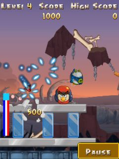 Java game screenshots Angry birds: Star wars 2. Gameplay Angry birds ...