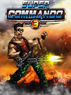Download free mobile game: Super commando 3 - download free games for mobile phone