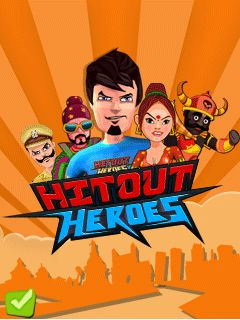 Download free mobile game: Hitout heroes - download free games for mobile phone