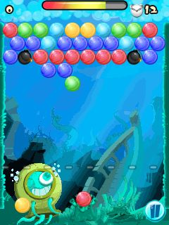Mobile game Bubble bubble - screenshots. Gameplay Bubble bubble