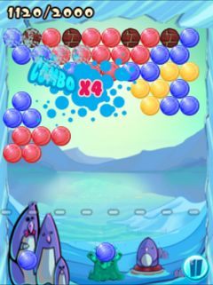 Mobile game Bubble frenzy - screenshots. Gameplay Bubble frenzy