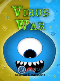 Download free mobile game: Virus war - download free games for mobile phone