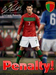 Download free mobile game: Penalty Ronaldo 3D - download free games for mobile phone