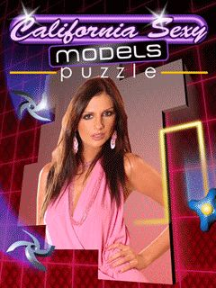 Download free mobile game: California sехy models puzzle - download free games for mobile phone