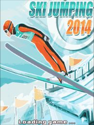 Download free mobile game: Ski jumping 2014 - download free games for mobile phone