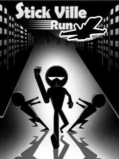 Download free mobile game: Stick Ville run - download free games for mobile phone