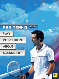 Download free mobile game: Pro tennis 2014 - download free games for mobile phone
