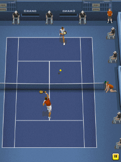 Mobile game Pro tennis 2014 - screenshots. Gameplay Pro tennis 2014