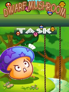 Download free mobile game: Dwarf mushroom Task - download free games for mobile phone