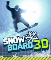 Download free mobile game: Snowboard 3D - download free games for mobile phone