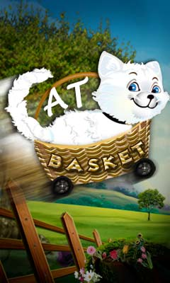 Download free mobile game: Cat basket - download free games for mobile phone