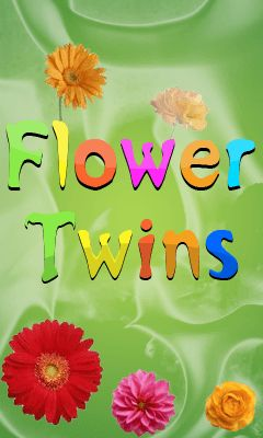 Download free mobile game: Flower twins - download free games for mobile phone