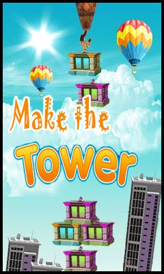 Download free mobile game: Make the tower - download free games for mobile phone