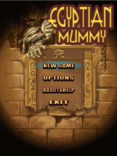 Download free mobile game: Egyptian mummy - download free games for mobile phone