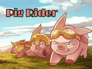 Download free mobile game: Pig rider - download free games for mobile phone