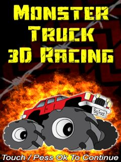 Download free mobile game: Monster truck 3D racing - download free games for mobile phone
