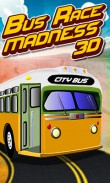 Download free Bus race madness 3D - java game for mobile phone. Download Bus race madness 3D
